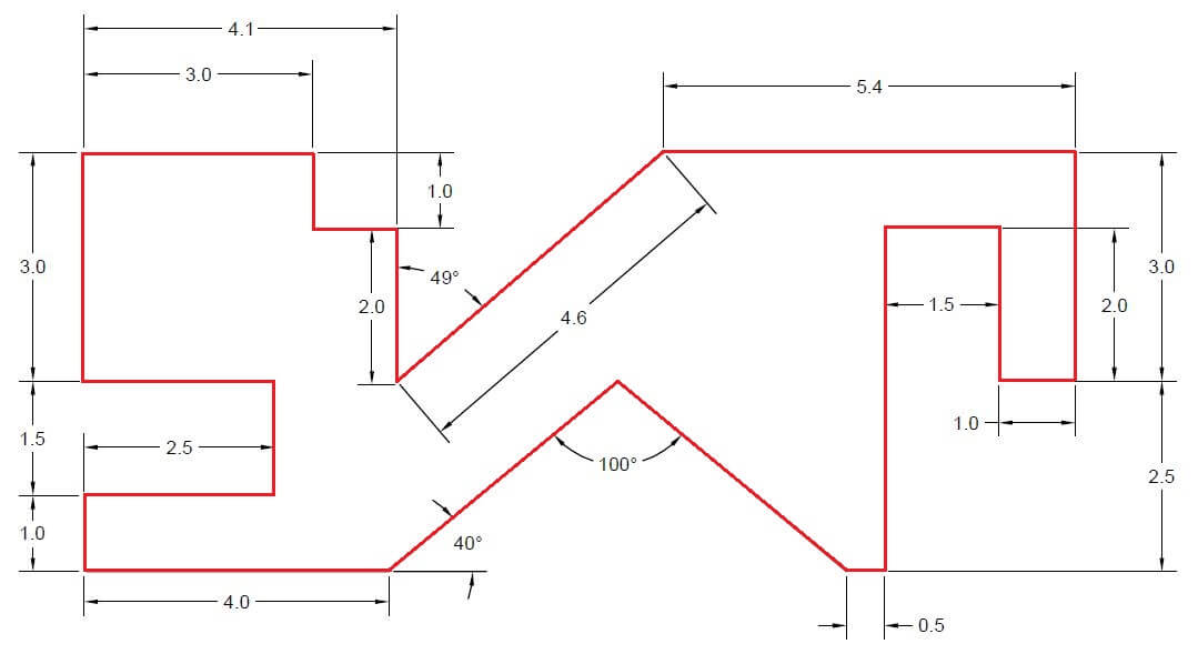 FREE Lesson #4 20 Days Of 2D AutoCAD Exercises