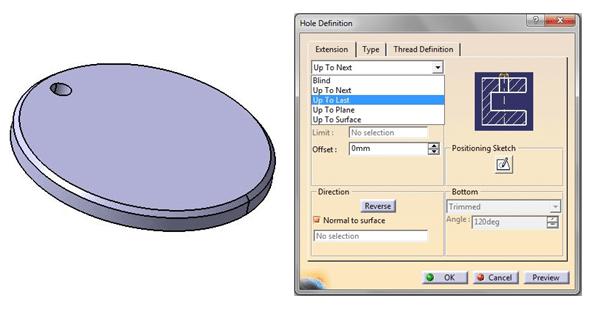 create a Circular Pattern in CATIA