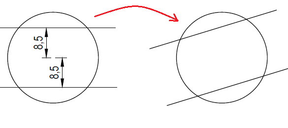 Draw a Wrench in AutoCAD