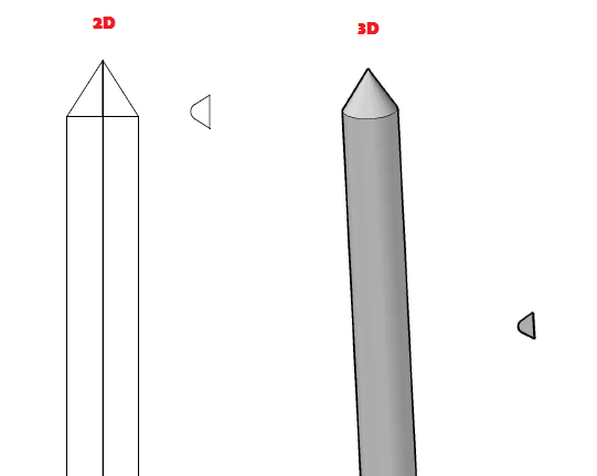 Threaded-rod-in-AutoCAD