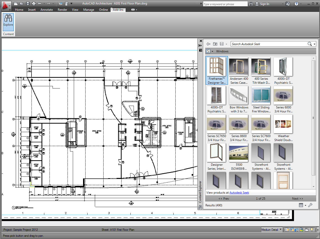 Free architecture software for Online cad drawing