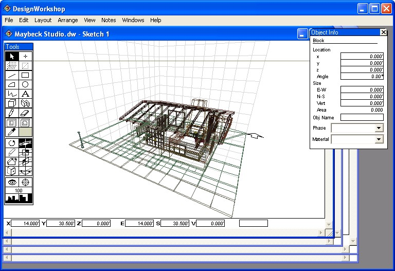 Free architecture software for Layout drawing software free