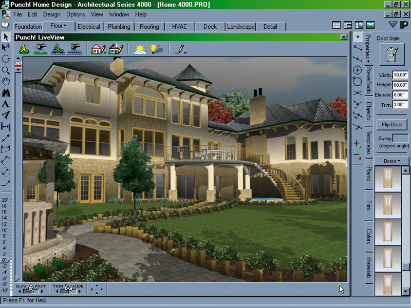Home design software for House building software free online