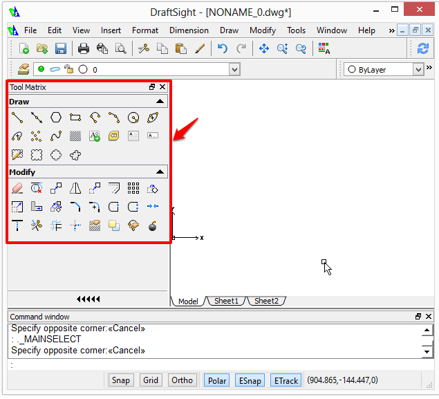 Drawing Lines In Draftsight : Drawing basic shapes in draftsight cad