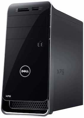 Dell XPS computer for CAD