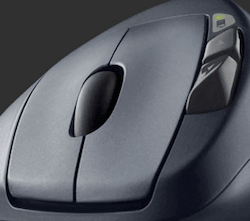 Logitech M570 Forward and Backward buttons
