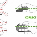 how to hold a mouse ergonomically