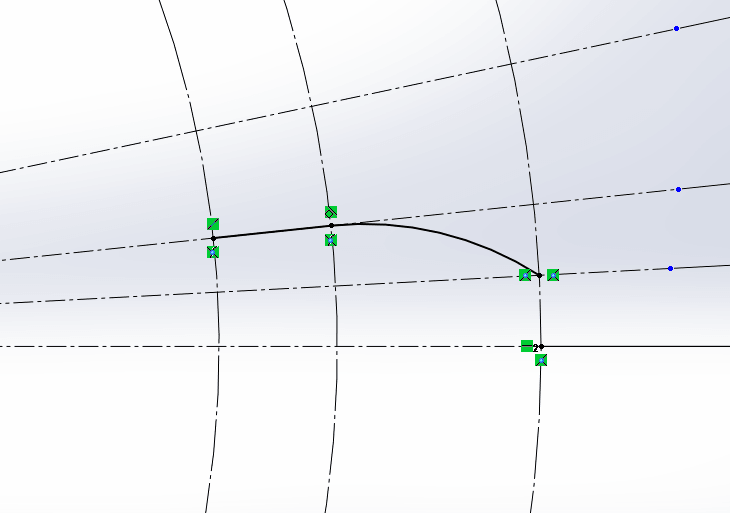 Tangent relation Feature