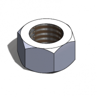 how to make a nut in solidworks