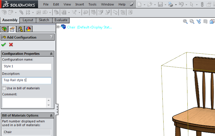 name the file in solidworks configuration tutorial