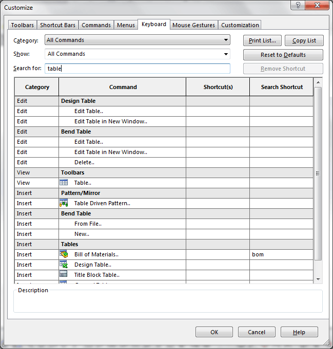 solidworks tip 1 is to use keyboard shortcuts