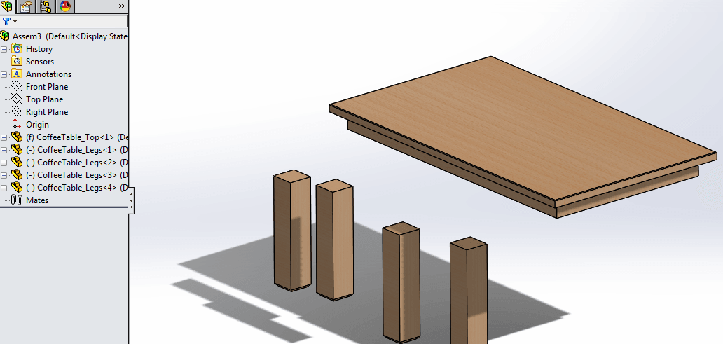 use mates to align models in solidworks 5