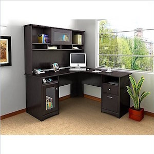 Furniture Cabot L-Shape Computer Desk by Bush review