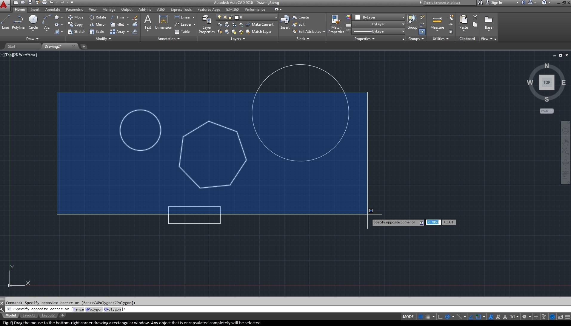 Best 10 ways of selecting objects in autocad for Window design autocad