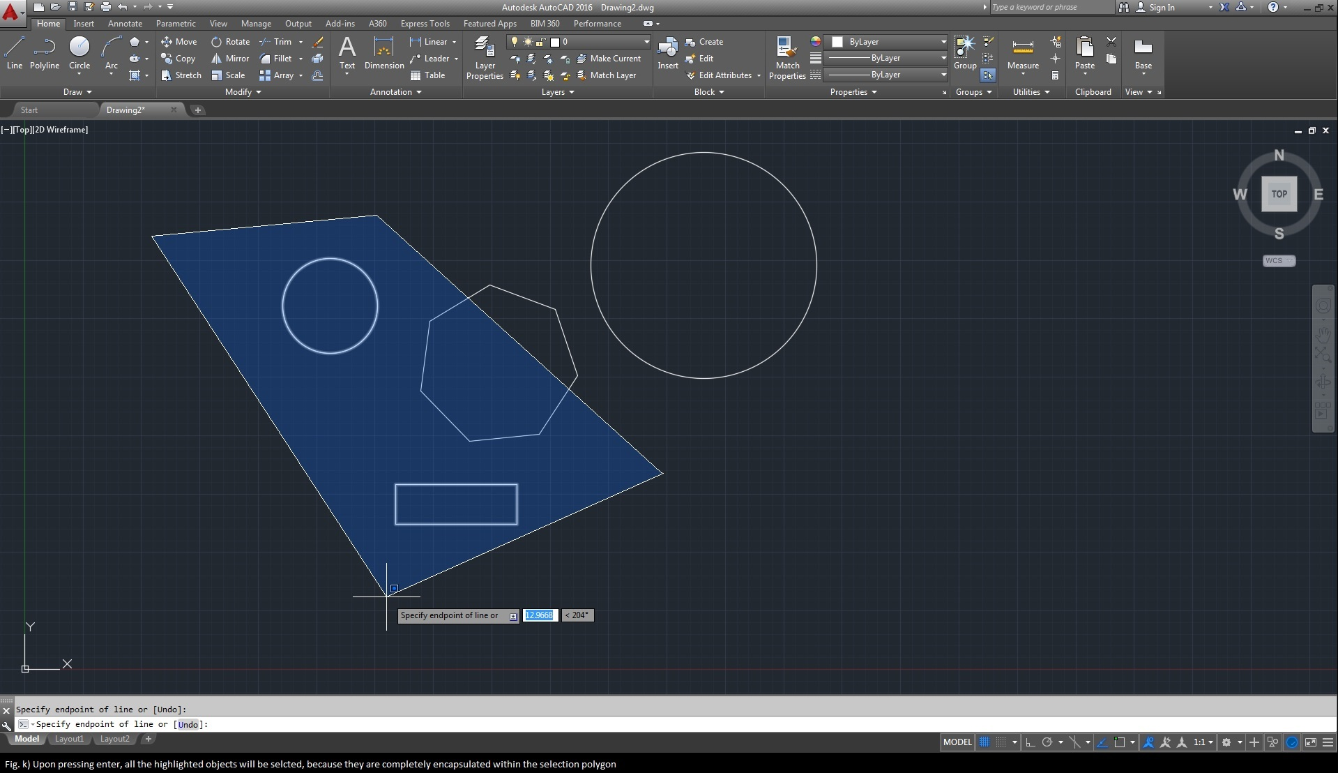 Drawing Lines In Autocad Using Coordinates : Best ways of selecting objects in autocad cad