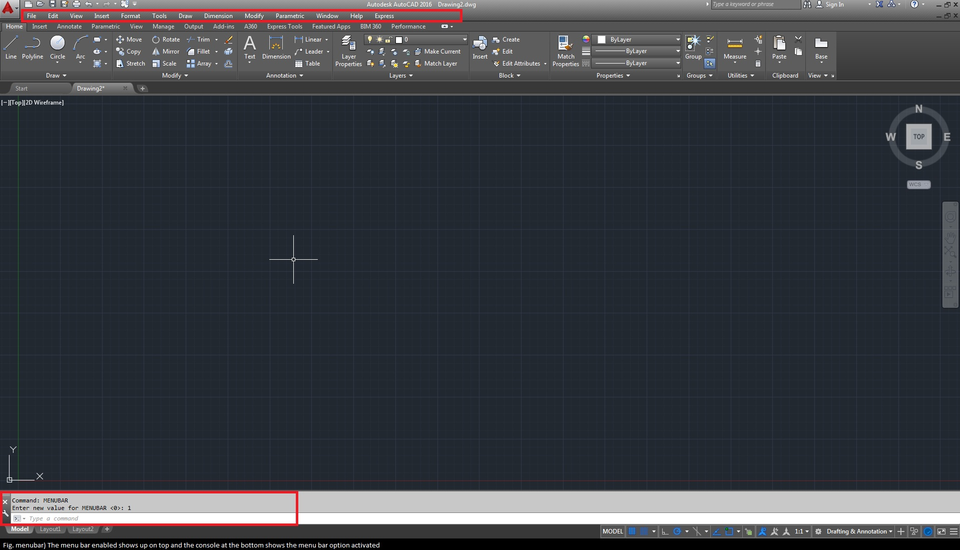 Drawing Smooth Lines In Autocad : Ways of accessing commands in autocad cad