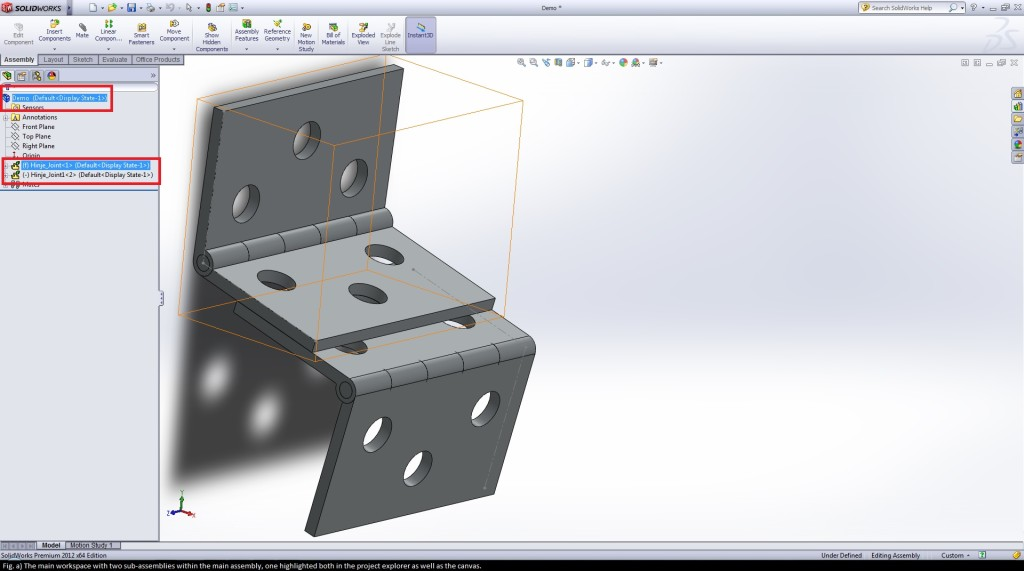 tutorial on how to use rigid and flexible assemblies in solidworks