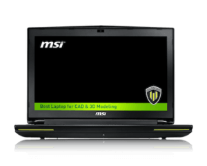 MSI WT72 front