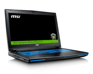MSI WT72 side
