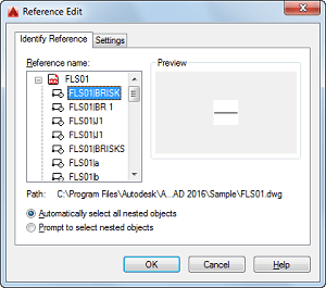 reference edit autocad