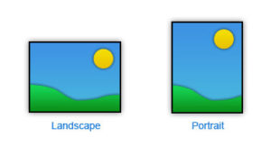 monitor portrait vs landscape for cad