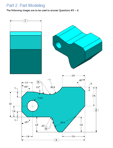 Solidworks CSWA Certificate Exam Preperation: Modelling Exercise #1 ...