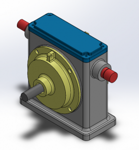 Housing Gearbox Assembly Model